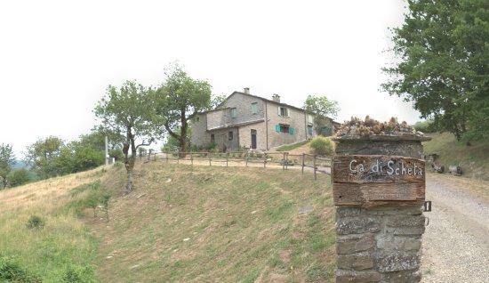 Palazzuolo Sul Senio, Italien: vista della casa