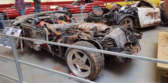 Bowling Green, KY: Those sinkhole Corvettes that were beyond restoration.