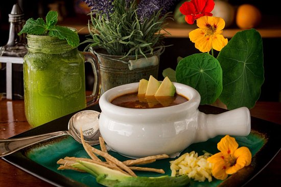 Tortilla Soup Sopa Azteca Fotografia De Choco Cafe Monteverde