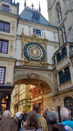 gros horloge rouen all you need to know before you go with photos tripadvisor. Black Bedroom Furniture Sets. Home Design Ideas