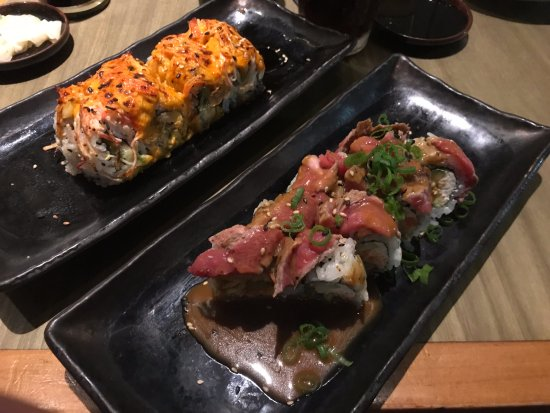 Dragonfly Sushi & Sake Co Incorporated: Surf and Turf on the right