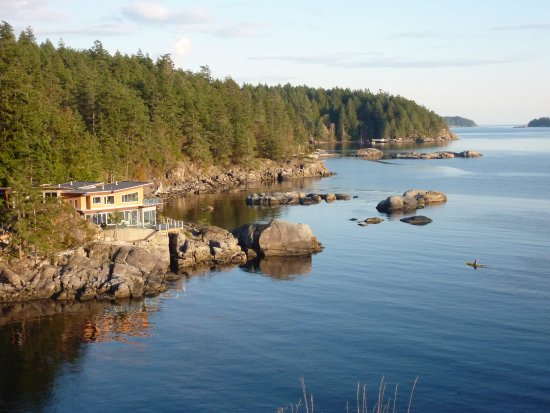 Halfmoon Bay, Canada: Pointhouse overview