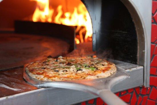Stony Brook, NY: wood burning oven