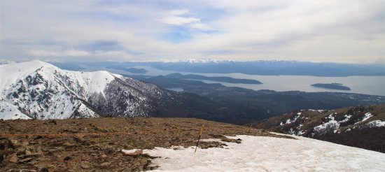 Catedral Alta Patagonis: Le lac