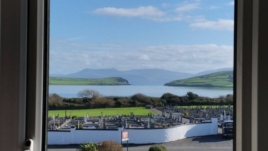 Dunlavin House: Amazing view of Dingle Bay from Room 1