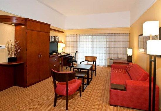 Troy, Αλαμπάμα: Suite Sitting Area