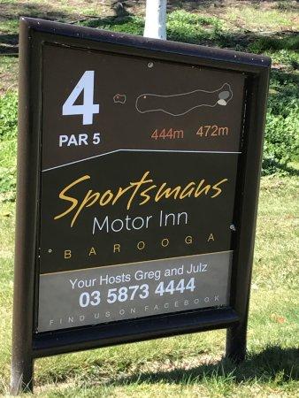 400 meters from the Cobram Barooga Golf Club.