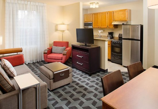 Two Bedroom Suite Living Area Picture Of Towneplace Suites Philadelphia Horsham Horsham