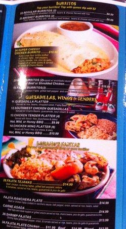 Immokalee, Флорида: Speisekarte