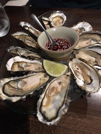 Bridgend, UK: Islay oysters