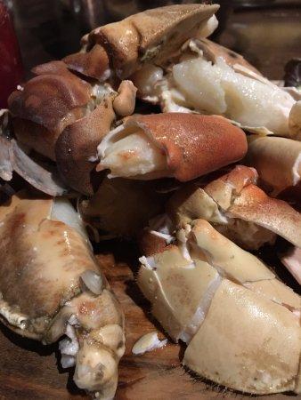 Bridgend, UK: Crab claws