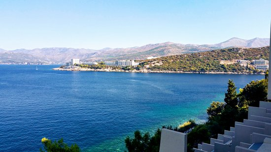 Hotel Dubrovnik Palace: View from 5th floor balcony
