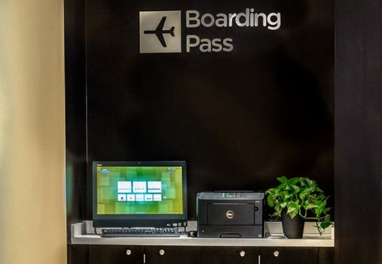 Charleston, WV: Boarding Pass Station
