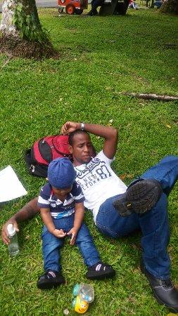 Summit Botanical Gardens: con mi hijo, pasando el dia
