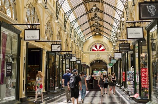 Melbourne Half Day Guided Small-Group Shopping Tour