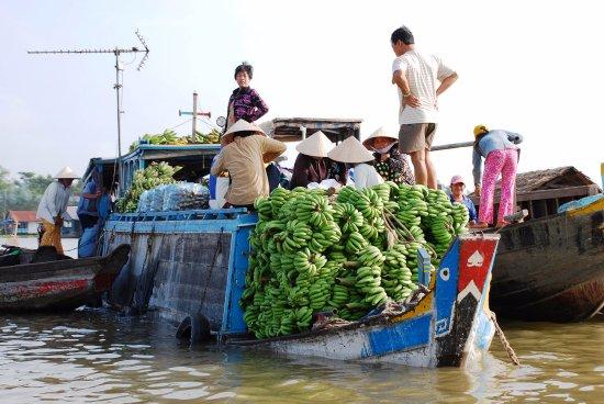 Footprint Vietnam Travel Day Tours: Floating Market - Mekong Delta - Vietnam