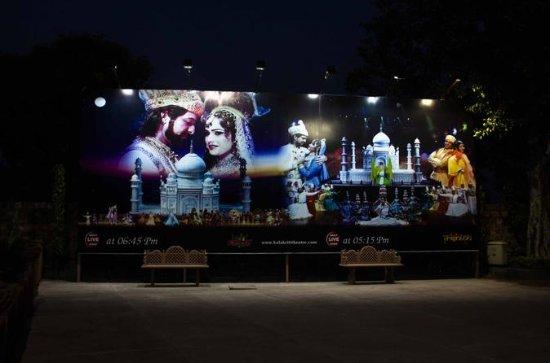Uma noite no Mohabbat de Agra O Taj...