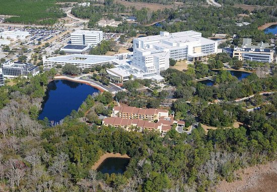 Courtyard Jacksonville Mayo Clinic/Beaches: Exterior- Aerial View