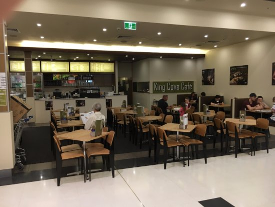 Hallett Cove, Australia: The café