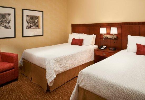 Miamisburg, Огайо: Double/Double Suite Bedroom