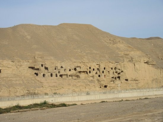 Dunhuang, China: Caves removed from the main site.