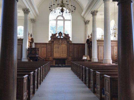 The National Churchill Museum: Inside the Christopher Wren designed church in Fulton, Missouri