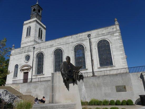 The National Churchill Museum: The Christopher Wren designed church in Fulton, Missouri