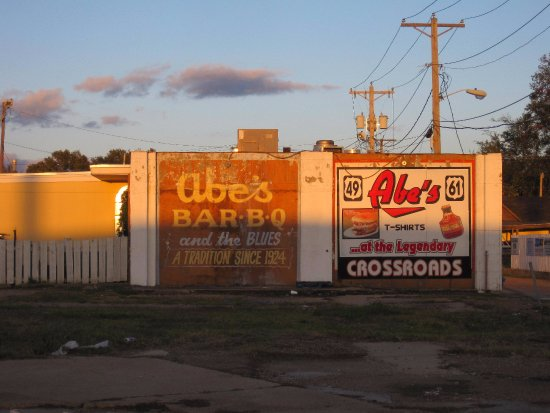 Abe's: sign... since 1924!
