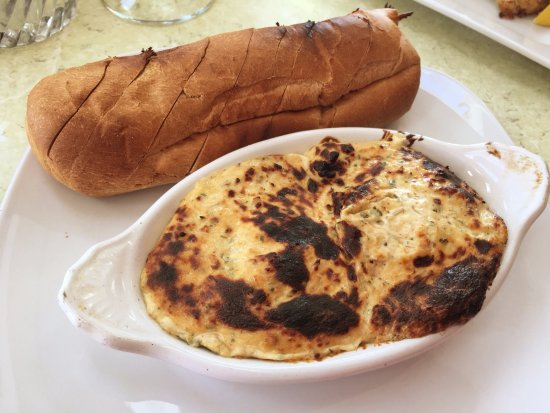 Galesville, MD: Blue Crab Dip (served with freshly baked bread)