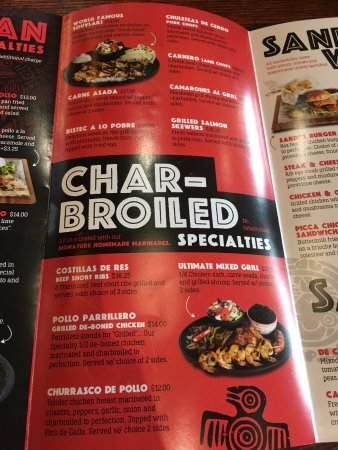 Bowie, MD: Menu: Charbroiled Specialties