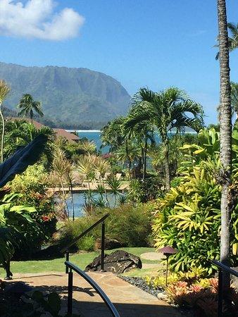 Hanalei Bay Resort: Taken from the lobby