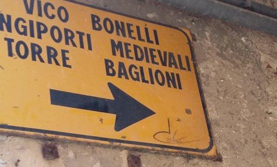 Torre Baglioni: indicazione
