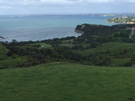 Whangaparaoa, Nuova Zelanda: View from the Look out