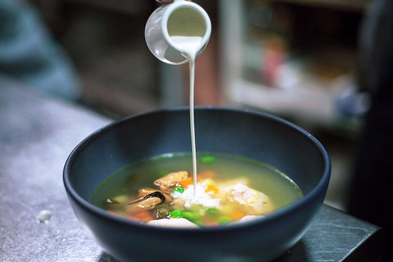 One Teaspoon: Nordic Soup with Ginger Cream