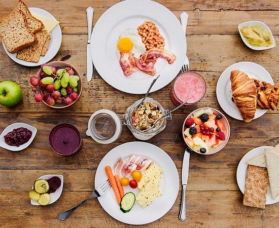 Breakfast buffet - Picture of Radisson Blu Polar Hotel, Spitsbergen,  Longyearbyen - Tripadvisor