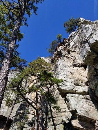 Mount Airy, NC: Pilot Mountain