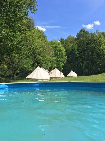 Pool - Picture of Belair le Camping, Champagnac de Belair - Tripadvisor