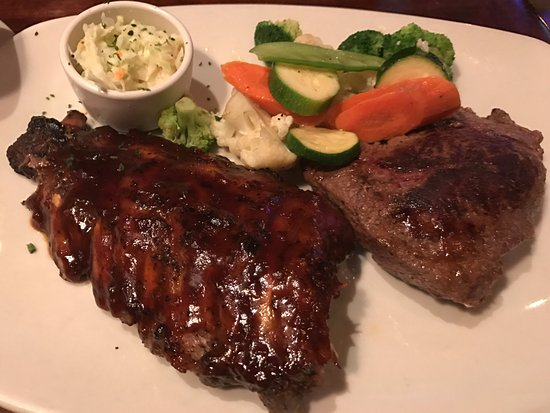 Outback Steakhouse: Fillet Steak & Spare Ribs($31.95)