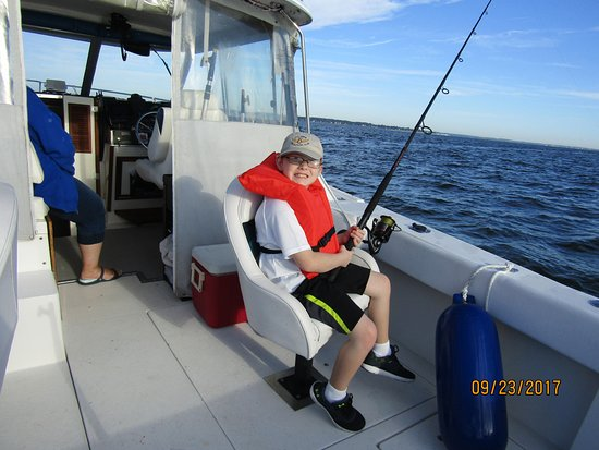 Maryland: grandkids love fishing on the bay
