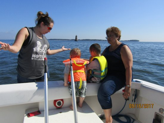 Maryland: family time near bloody point