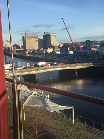 Clayton Hotel Cork City: A room with a view?!