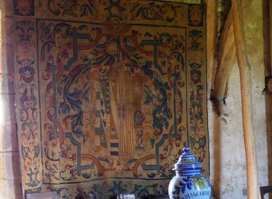Château de Villemonteix: tapisserir