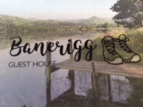 Banerigg Guest House: BUSINESS CARD