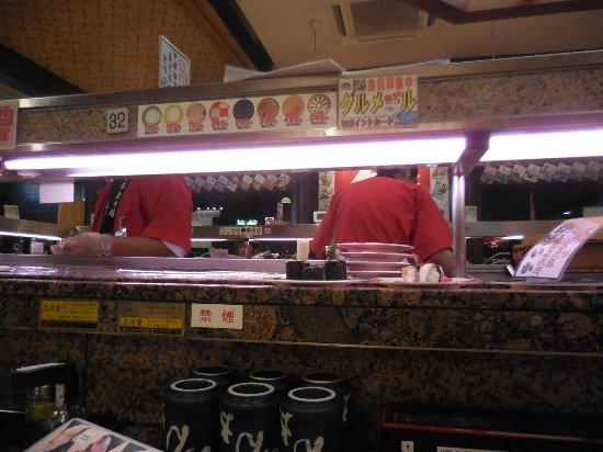 Kudamatsu, Japan: 店内です