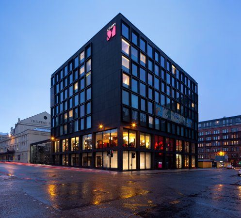 CitizenM Glasgow: Exterior hotel