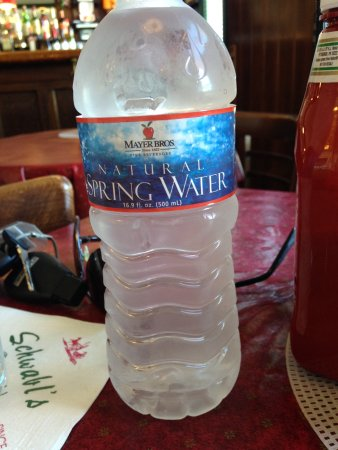 West Seneca, NY: Great spring water