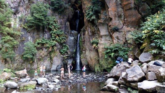 Salto do Cabrito: Водопад.