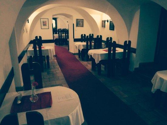 Restaurace Rachel: Hlavní část restaurace