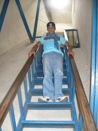 Trujillo, Venezuela: SUBIENDO HASTA EL ROSTRO ,ES MUY SEGURO.vez la ciudad por sus ojos.