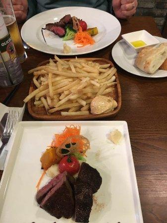 Lekkere steak!!